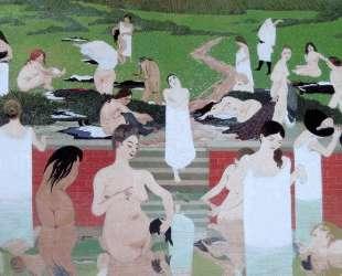 The Bath, Summer Evening — Феликс Валлотон