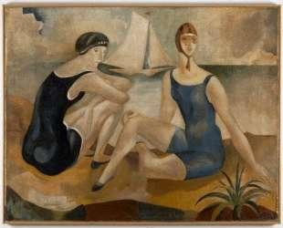 The bathers — Хосе де Альмада Негрейрос