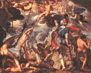 The Battle Between the Gods and the Titans — Йоахим Эйтевал