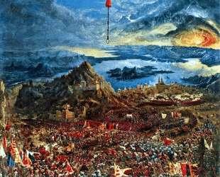Битва Александра (Битва при Иссе) — Альбрехт Альтдорфер
