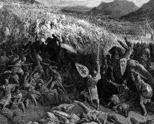 Битва при Никее в 1097 году — Гюстав Доре