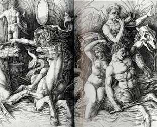 The Battle of Sea Gods — Андреа Мантенья