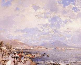 The Bay of Naples — Франц Рихард Унтербергер