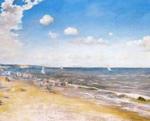 The Beach at Zandvoort — Уильям Меррит Чейз