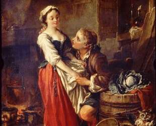 Прекрасная кухарка — Франсуа Буше