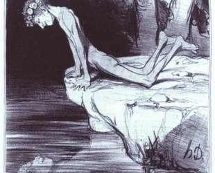 Прекрасный Нарцисс — Оноре Домье