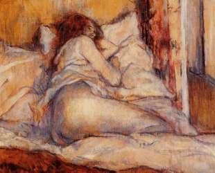 The Bed — Анри де Тулуз-Лотрек