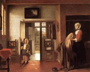 The Bedroom — Питер де Хох