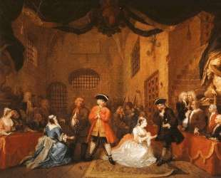 The Beggar's Opera — Уильям Хогарт