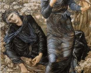 Обман Мерлина (Мерлин и Вивиана) — Эдвард Бёрн-Джонс