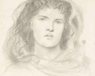 The Beloved study (The Bride study) — Данте Габриэль Россетти