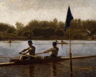 The Biglin Brothers Turning the Stake Boat — Томас Икинс