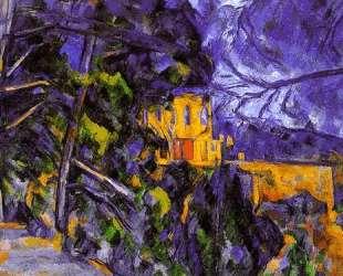 Черный замок — Марк Шагал