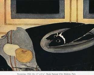 Черная рыба — Жорж Брак