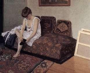 The Black Stocking — Феликс Валлотон