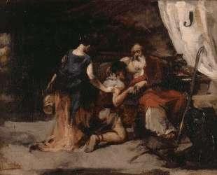 The blessing of Isaac — Хоакин Соролья