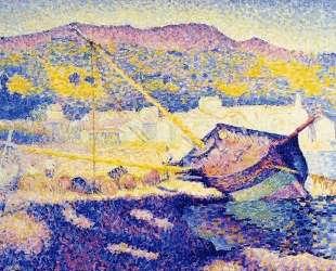 The Blue Boat — Анри Эдмон Кросс