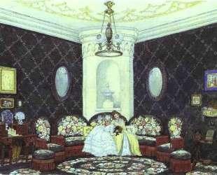 The Blue Lounge — Мстислав Добужинский