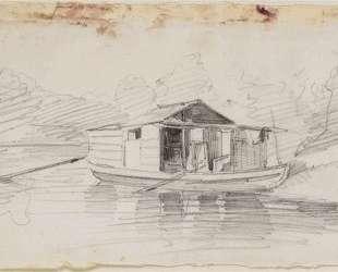 Лодка — Шарль-Франсуа Добиньи