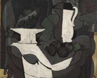 Блюдо с виноградом — Жорж Брак
