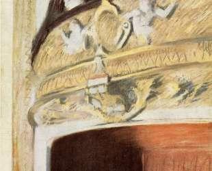 Оперная ложа — Эдгар Дега