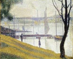 Мост на Курбевуа — Жорж Сёра