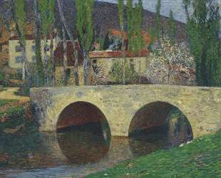 The Bridge at Labastide du Vert — Анри Мартен
