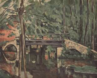 The Bridge at Maincy — Поль Сезанн