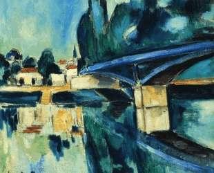The Bridge at Nogent — Морис де Вламинк