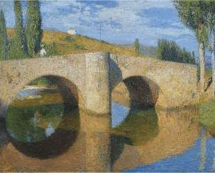The Bridge in Labastide du Vert — Анри Мартен