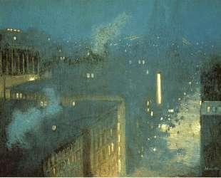 The Bridge Nocturne aka Nocturne Queensboro Bridge — Джулиан Олден Вейр