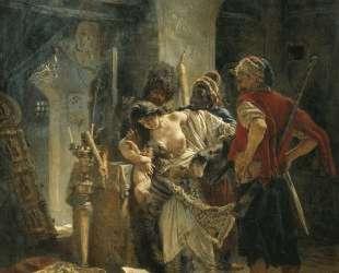 The Bulgarian Martyresses — Константин Маковский