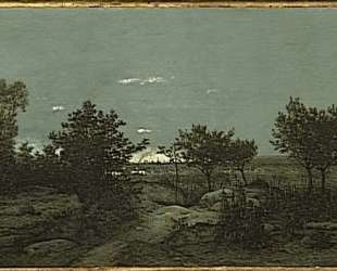 The campaign at sunrise — Теодор Руссо
