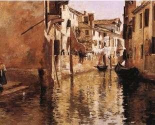 The Canal — Юлиус Леблан Стюарт