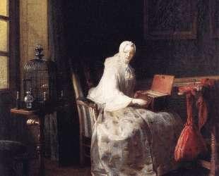 The Canary — Жан Батист Симеон Шарден