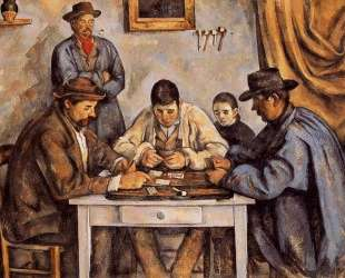 The Card Players — Поль Сезанн