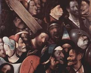 Несение креста — Иероним Босх