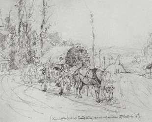 Повозка с ранеными — Василий Поленов