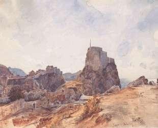 The Castle of San Lorenzo in Ragusa — Рудольф фон Альт