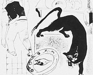 Кот и Повар (иллюстрация к басне Крылова) — Александр Дейнека