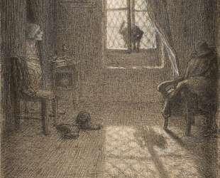 Кошка, ставшая женщиной — Жан-Франсуа Милле