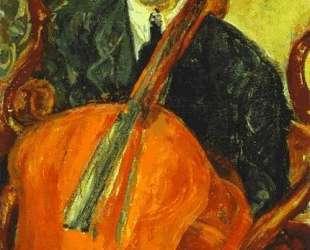 The Cellist (Serevitsch) — Хаим Сутин