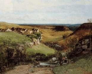 Орнанский замок — Гюстав Курбе