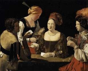 The Cheat with the Ace of Diamonds — Жорж де Латур