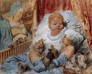 Детство Пантагрюэля — Гюстав Доре
