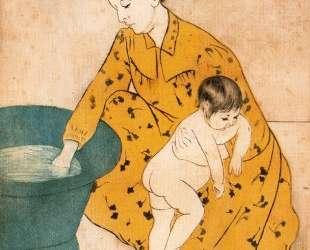 Детская ванночка — Мэри Кассат
