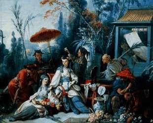 Китайский сад — Франсуа Буше