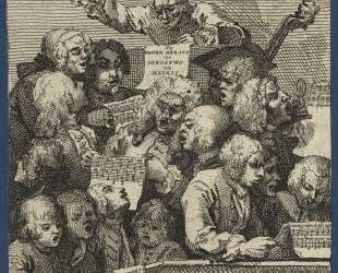 The Chorus — Уильям Хогарт