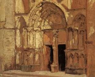 The Church doorway — Грант Вуд