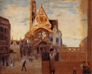 The church of Paris — Грант Вуд